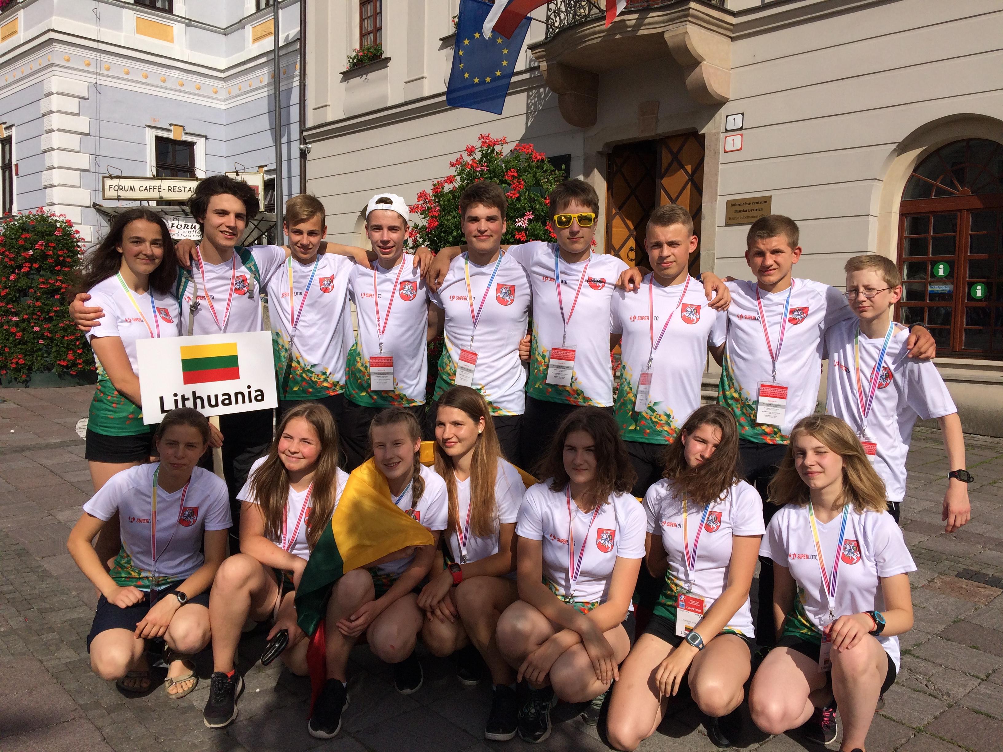 Lietuvos orientavimosi sporto jaunučių ir jaunių komanda