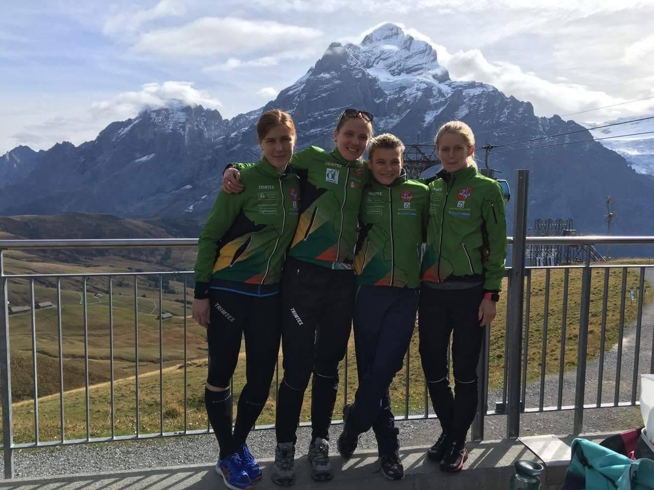 Lietuvos rinktinės narės finaliniame pasaulio taurės etape Šveicarijoje